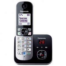 Беспроводной DECT телефон Panasonic KX-TG6821RUB